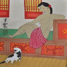 CARNETS DE CHINE - et d'ailleurs: Coup de coeur pour les femmes peintes par les paysans du Shaanxi