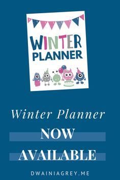 Keep your family organized by planning your family's winter activities. This colorful planner for kids and the whole family to use to plan your winter vacation. Buy Now! #winterplanner Kids Planner, Weekly Planner, Indoor Activities, Winter Activities, Craft Day, Family Organizer, Journal Pages, Things To Think About, Blogging