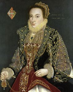 High res 1573 Mary Denton aged 15 years - attributed to George Gower (York City Art Gallery, UK)