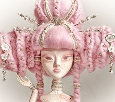 Hot SALE 20% OFF MIA, The Odd Princess Of Blossoming Sakura Collectible Art Doll. Free Shipping. $999.00, via Etsy.