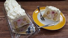 Himbeer-Mascarpone-Dessert Pudding, Eggs, Tasty, Cheese, Desserts, Breakfast, Recipes, Food, Raspberries
