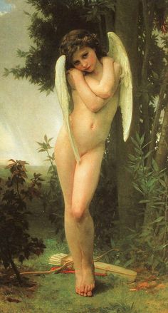 Cupidon by William-Adolphe Bouguereau