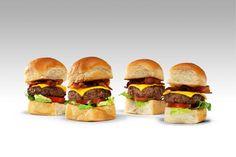 "ideia de tiny burger - ""slider"""