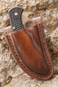 Spyderco Manix 2 Custom Friction Knife Sheath by BladesandSheaths