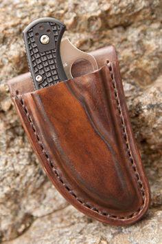 Spyderco Manix 2 Custom Friction Knife Sheath by BladesandSheaths