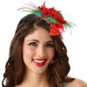 Poinsettia Headband  Fun way to celebrate Christmas
