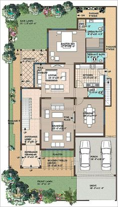 apps's media content and analytics 20x30 House Plans, My House Plans, House Layout Plans, Small House Plans, House Layouts, House Floor Plans, Duplex Floor Plans, Home Design Floor Plans, Best Small House Designs