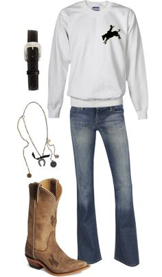 """Wyoming"" by hotcowboyfan ❤ liked on Polyvore"