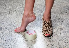 How to manage first-wear blisters - via @shoesofprey #heels