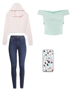 """""""Girls"""" by harleebugabug ❤ liked on Polyvore featuring H&M"""