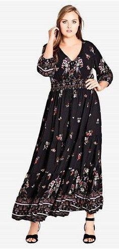 7d375babc71 Plus Size Long Sleeve Maxi Dress – Find Long Sleeve Maxi Dresses In Plus  Sizes