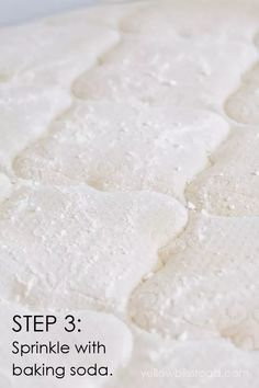 If mattress stains and odors are taking over your mattress this simple method will quickly become your best friend. Check out the reader tips - esp. #4! #WhatIsBakingSodaUsedForInCleaning Deep Cleaning Tips, Natural Cleaning Products, Cleaning Hacks, All You Need Is, Lime Scale Remover, Baking Powder For Cleaning, What Is Baking Soda, Tablet Recipe, Mattress Stains