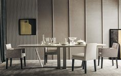 7 Experienced Clever Hacks: Dining Furniture Design Home contemporary dining furniture light fixtures.Dining Furniture Makeover Legs dining furniture design home. Home Interior, Modern Interior, Interior Design, Interior Stylist, Dining Table Design, Dining Room Table, Casa Milano, Esstisch Design, Outdoor Dining Furniture