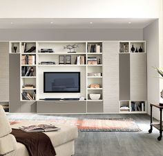 Buy Matera Wall Unit for Sale at Deko Exotic Home Accents. Matera bookcase wall unit with clean lines exemplifies exceptional Italian design where form meets functionality.