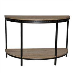 Charlotte Demilune Table