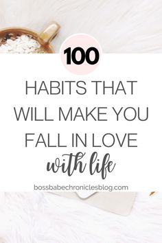 Good habits are the key to happiness, physical health, success, wealth, and relationships. Here are 100 habits that will quite literally transform your life into the best version yet! Good Habits, Healthy Habits, Healthy Life, Quotes Quotes, Cover Quotes, Wisdom Quotes, Lesson Quotes, Journal Quotes, Affirmation Quotes