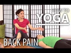How To Yoga For Beginners - Movement Meditation For Back Pain Relief - YouTube
