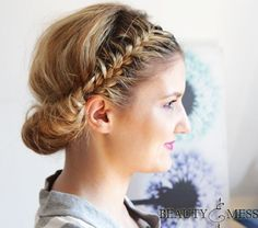 Double+Braided+Updo