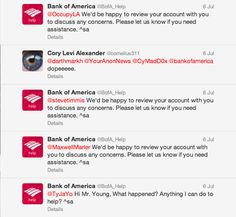 Bank of America responds with standard tweets - Screen Shot 2013-07-11 at 1.11.57 PM