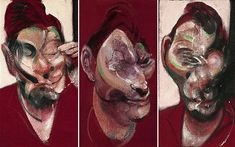 Francis Bacon Portraits | Powerfully rendered: Francis Bacon's 'Three Studies for a Portrait of ...