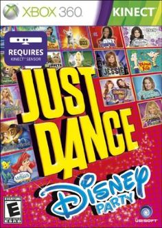 Just Dance and Disney are working in collaboration to create the greatest dance game for the whole family - Just Dance: Disney Party for Kinect for Xbox 360. Dance like a star to 25 songs from classic Disney movies and Disney Channel's hottest shows. With an amazing selection of family favorite songs, fun dances, and kid-friendly gameplay, children of all ages can dance along with family and friends!