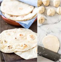 batches, but just like pizza dough, once you get the hang of it, it's super easy. And guess what? This yeast-free flatbread is way easier than pizza dough!