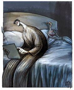 Angel Boligan, 1965 | Surreal cartoonist / illustrator | Tutt'Art@ | Pittura * Scultura * Poesia * Musica |