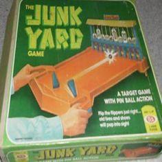 The Junk Yard pinball game 1975. Junkyard