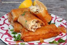 Bourek poulet-champignons à la béchamel - Les joyaux de sherazade : Recettes de cuisine algerienne et de monde.