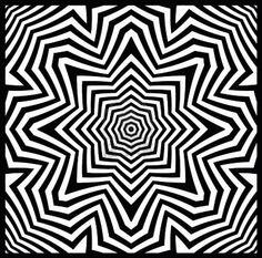 opt art Op Art, Geometric Tattoo Design, Geometric Mandala, Coloring Books, Coloring Pages, Adult Coloring, Beautiful Rangoli Designs, Illusion Art, Black And White Design