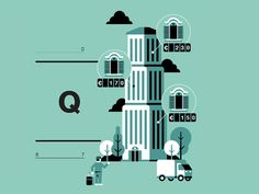 Rent a room illustration by Marco Goran Romano for Wired Italy