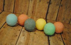 Mini bath bomb sampler. A great way to try different scents! Made by Scented Owl Creations  http://scented-owl-creations.mybigcommerce.com