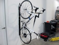 Saris Bike Trac Vertical Bike Storage Rack - Wall Mount - 1 Bike