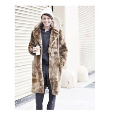 #tbt freezing and wearing teddy bear faux fur in the streets of #NYC - tap image for credits, not sure who took the pic, if you know let me know!