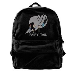 Fairy Tail Anime Mens Black Casual Durable Athletic Adjustable Strap Shoulder Bag >>> Want additional info? Click on the image.