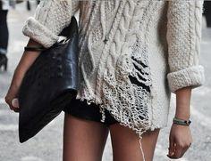 tricot destruido
