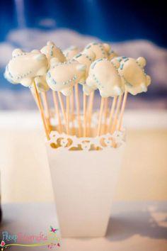 CUTE airplane cake pops! Airplane themed party via Kara's Party Ideas karaspartyideas.com