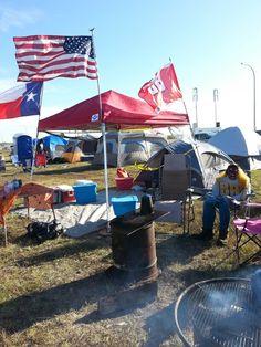 Camp sight sat morning at tms