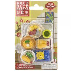 Iwako Japanese Food Erasers
