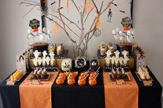 Mesa de halloween, como decorar