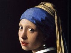 We all thrilled to Johannes Vermeer painting his best-known portrait as dramatized in Peter Webber's 2003 film Girl with a Pearl Earring. Johannes Vermeer, Tim's Vermeer, Most Famous Paintings, Classic Paintings, Famous Artists, Delft, Visual Elements Of Art, Visual Arts, Girl With Pearl Earring