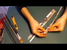 Perle di carta sferica: Tutorial, Bigiotteria fai da te, carta e tecnica quilling: paper beads