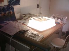 Cheap Light Box for Drawing or Inking Or.