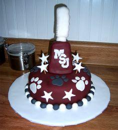 MSU Cake,,, LOVE IT!!