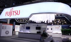 STAND FUJITSU. MOBILE WORLD CONGRESS 2015. BARCELONA