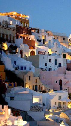 Santorini,  Greece : Want go back every time I  see a photo!