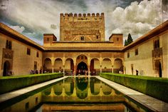 La ciudad de Granada en Andalucía con Instagram: Xavi(Imagen con licencia Creative Commons)