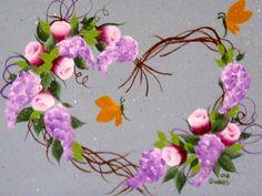 Rose bud wreath.  (By Susan Earl)