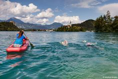 4 day Lake Swimming holiday trip in Slovenia. We swim and travel to Lake Bled, Lake Bohinj, around Triglav national park and swim down the Soca river. Open Water Swimming, Us Swimming, Bled Slovenia, Bohinj, Lake Bled, Heart Of Europe, Adventure Holiday, Holiday Travel, Places To See