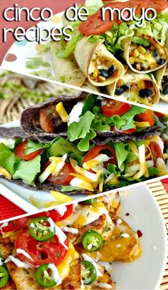 Healthy Cinco de Mayo Recipes <3